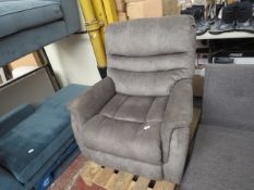 | 1X | THOMASVILLE LAZY BOY ARM CHAIR | SOFT GREY BENSON LEATHER | UNCHECKED |