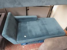 | 1X | MADE.COM VELVET CHAISE LOUNGER | no major damage (PLEASE NOTE, THIS DOES NOT PROVIDE ANY