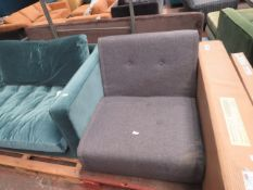 | 1X | MADE.COM FOLDABLE SOFABED | no major damage (PLEASE NOTE, THIS DOES NOT PROVIDE ANY