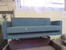 | 1X | MADE.COM CHOU SOFA BED WITH STORAGE | HAS NO FEET | RRP £529 |