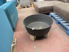 | 1X | MADE.COM OUTDOOR FIREPIT | HAS BEEN USED | RRP - |