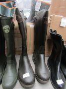 Verney-Carron - Brown Wellington Boots - Size 43 - Unused.