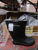 Tretorn - Bore Black Wellington Boots - Size 41 - Unused.