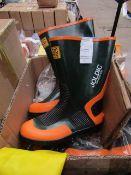 Joldic - Hard Active Gear Wellington Boots - LL - Unused.