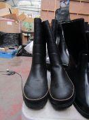 Tretorn - Bore Wellington Style Boots With Stripe - Size 42 - Unused.