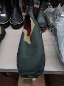 Rouchette - Slide-On Kharki Green Work Shoes - Size 44 - Unused.