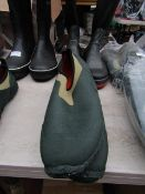 Rouchette - Slide-On Kharki Green Work Shoes - Size 40 - Unused.