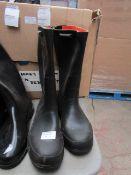 Tretorn - Classic Wellington Boots With Stripe - Size 33 - Unused.