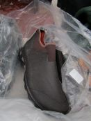 Rouchette - Slide-On Brown Work Shoes - Size 41 - Unused.