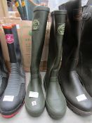 Country Life In Rydale - Green Wellington Boots - Size 3 - Unused.