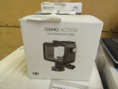 DJI osmo action water proof case, unchecked and boxed