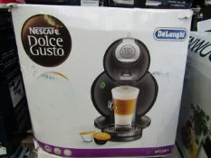 Delonghi - Nescafé Dolce Gusto Melody Coffee Machine - Black - Unchecked, Untested & Boxed. RRP £