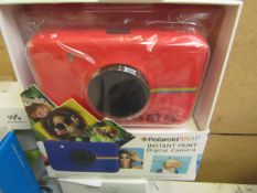 Polaroid Snap Instant camera, unchecked and boxed, RRp £84.99