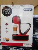 Delonghi - Dolce Gusto Infinissima Red Coffee Machine - Unchecked, Untested & Boxed. RRP £95.99