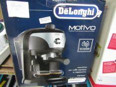 DELONGHI - Traditional Pump Espresso Coffee Machine - ECC221.B - Item Powers On, Unchecked For