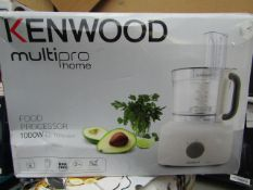 Kenwood - MultiPro FDP645.WH With 3 Accessories - White - Unchecked, Untested & Boxed. RRP £140.