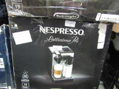 De'Longhi - Nespresso Lattissima Touch EN560.S Coffee Machine - Silver - Unchecked, Untested &