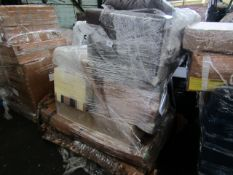   1X   PALLET OF FAULTY / MISSING PARTS / DAMAGED CUSTOMER RETURNS MADE.COM/SWOON STOCK UNMANIFESTED