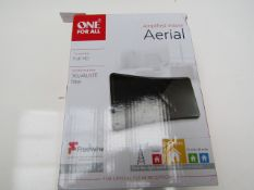 One For All Amplified Indoor Aerial - Unchecked & Boxed -
