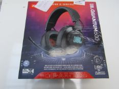 JBL Quantum 600 Wireless Gaming Headset - Tested Working for Sound & Boxed - RRP £100