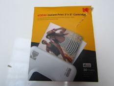 Kodak InstaPrint 3x3 Cartridges - Unchecked & Boxed