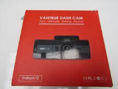 Vantrue Dashcam 1080p - Untested & Boxed - RRP £160