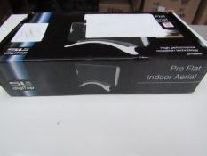 SLX Digitopp Pro Flat Indoor Aerial - Unchecked & Boxed - RRP £25