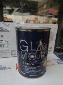 18X Glamour - Glaze Matt Paint (6x 750ml Per Box) - BBD 08-03-19 - Unused & Boxed.
