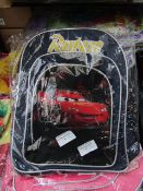 4X CARS KIDS SMALL SHOULDER BAG, SUITABLE FOR SCHOOL, UNCHECKED AND PACKAGED