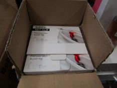1x Box containing approx 20 Bobino - key Clip - Colours picked at random - New & Packaged.