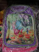 10X TINKERBELL KIDS SMALL SHOULDER BAG, SUITABLE FOR SCHOOL, NEW & ACKAGED.