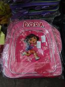 4X DORA KIDS SMALL SHOULDER BAG, SUITABLE FOR SCHOOL, NEW AND PACKAGED