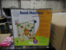 Smart Wood bead machine, new and boxed.