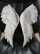 | 1X | COX AND COX WALL HUNG ANGEL WINGS DECORATIONS | HAS A SMALL DAMAGE ON IT | PALLET REF AP-A-30