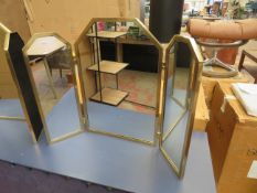 | 1X | SWOON DRESSING TABLE MIRROR | NO MAJOR DAMAGE (PLEASE NOTE, THIS DOES NOT PROVIDE ANY