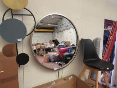 | 1X | COX AND COX ANTIQUE SOFT GOLD RIM MIRROR | NO MAJOR DAMAGE (PLEASE NOTE, THIS DOES NOT