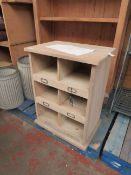 | 1X | COX AND COX SMALL WOODEN BOX UNIT | NO MAJOR DAMAGE (PLEASE NOTE, THIS DOES NOT PROVIDE ANY