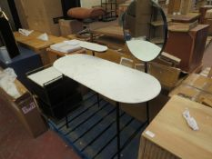 | 1X | SWOON SENZO DRESSING TABLE | MARBLE NEEDS TO BE SEALED BACK ON | RRP CIRCA £399 |