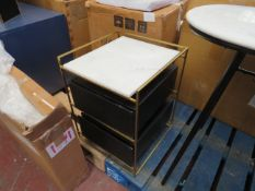 | 1X | SWOON NOTO BEDSIDE TABLE | NO MAJOR DAMAGE (PLEASE NOTE, THIS DOES NOT PROVIDE ANY WARRANTY
