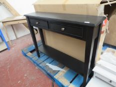 | 1X | COX AND COX CAMILLE CONSOLE TABLE | DISMANTLED | RRP CIRCA £425 |