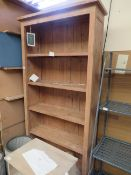 | 1X | COX AND COX RECYCLED 5 SHELF BOOKSHELF | BACK HAS COME APART | PALLET REF COX-A-250 | RRP £