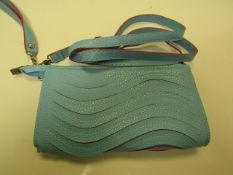 3x Blue Clutch Bags - New & Sealed