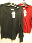 10 X 2 Girls Cardigans Various Colours See Image Aged 10/11 yrs & 7-8yrs All New