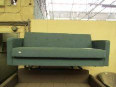   1X   MADE.COM CHOU SOFA BED WITH STORAGE   HAS NO FEET   RRP £529  