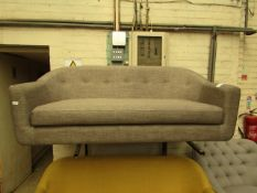   1X   MADE.COM TUBBY SOFA   NO MAJOR DAMAGE (PLEASE NOTE, THIS DOES NOT PROVIDE ANY WARRANTY OR