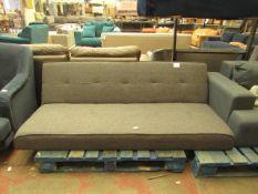 1 x Made.com Yoko Click Clack Sofa Bed Cygnet Grey RRP £249 SKU MAD-AP-SOFYOK007GRY-UK-BER TOTAL RRP