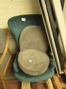   2X   MADE.COM CHAIRS   BOTH MISSING FEET   RRP -  