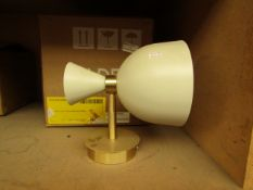   1X   MADE.COM JAVA WALL LAMP   UNCHECKED AND BOXED   RRP £39  