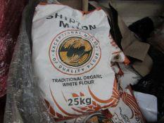 Shipton Mill - Traditional Organic White Flour - 25KG BAG - BB Dec 2021, RRP £24.99