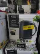 3x Fast Boil Kettles | Colours May Vary | Unchecked & Boxed | RRP £20 | Total lot RRP £60 | Load Ref